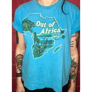 """Vintage """"Out of Africa"""" T-shirt"""